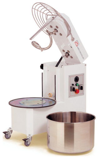 Picture of Spiral Mixer, Model IM, with removable bowl, 18Kg, monophase