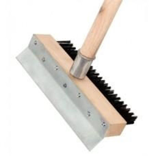 Picture of Oven brush with scraper