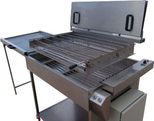 Picture of Fryer with manual turning system