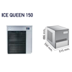 Picture of Granular ice machine - IQ modular range - without tank
