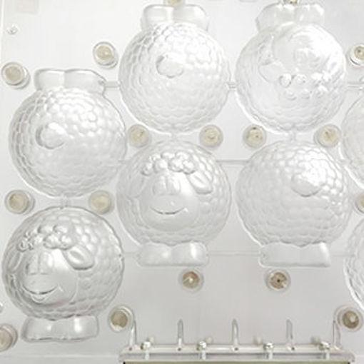 Imagem de Molde 3D  4 OVELHAS GRANDES  SPINNING MOULD