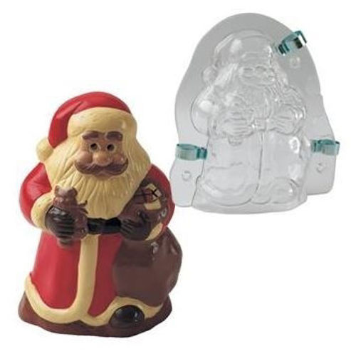 Picture of Plastic mould 3D Santa Claus MAC180
