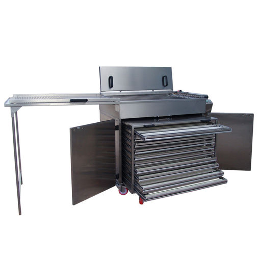 Picture of Semi-automatic Fryer with turning system - Mod. FP-36K W/Chamber