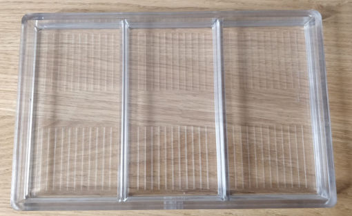 Picture of Polycarbonate Mould     181B 275x175 tablet  with stripes
