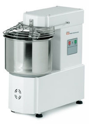Picture of Spiral Mixer, model IM, with fixed bowl  - 10LT, +/- 8Kg  dough - with inverter
